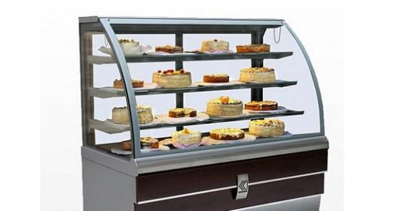 Süteményes és cukrászvitrinek