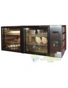 L-185-2/3 RM Fekvő, két légterű rozsdamentes hűtővitrin