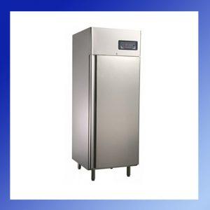 Rozsdamentes teleajtós hűtőszekrények